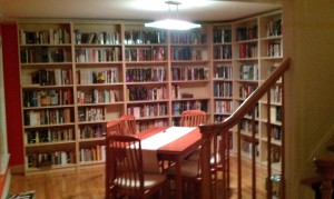Our Library Annex (aka the Dining Room)